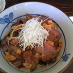 5362365 - 牛ステーキ丼(1580円)