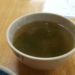 53623761 - 海苔のスープ