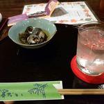 濱おか - お通しと焼酎_2016/07