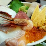 阿波水産 - 海鮮丼