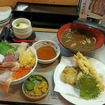 阿波水産 - 海鮮丼御膳