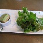 5363348 - グリーンサラダ・ブロッコリーのキッシュ