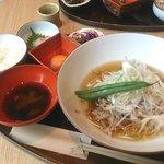 茶CAFE 竹若 - もち豚しゃぶしゃぶ膳
