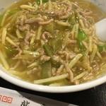北京 - ザーサイと豚肉麺
