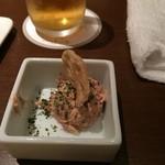 KICHIRI - コーンビーフサラダの小付け