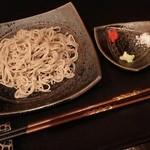 53637951 - 玄蕎麦(滋賀県産だったかな?)と薬味