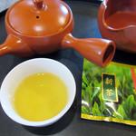 和束茶屋 山甚 - 新茶。特に一煎目が凄かった (2016.6月)