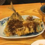 亀勢 - 鯵フライと串カツ