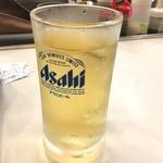 松屋 - ハイボール¥150‼️ 氷は要りません。と言ったら氷の分まで多めにハイボール入れてくれました*\(^o^)/*
