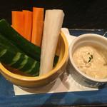 日本酒スローフード方舟 - ステック野菜
