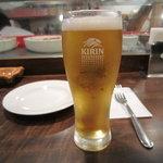 バル・イスパニヤ - 生ビール
