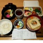 shop×cafe - ふやき御汁弁当 税込1,836円