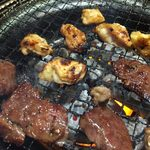 げんかや - 料理写真:genkaya:激辛カイノミとハラミ