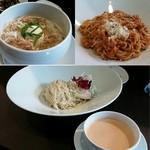 53642294 - 味噌・エビ和え麺・エビつけ麺