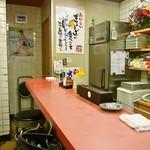 大阪せんや - 店内(カウンター席)