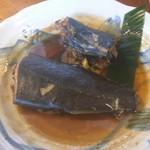 舟ぜん - スミヤキ(クロシビカマス)の煮付け