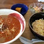 おうちごはん処 ふたば食堂 - 料理写真:よくばりランチ(担々麺)