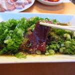 韓国屋台料理 とらじ - 肝アップ