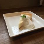 オソラカフェ - チーズケーキ