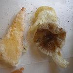 じゃぱにーずきっちん ぼうけん - 右側:ぼりぼり(キノコ)の天ぷら