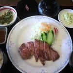 ゴルフ5カントリー 美唄コース - 「ステーキ定食」1000円