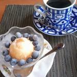 森のパスタ屋 ソング・オブ・ザ・バード - 自家製シャーベットに自家焙煎のコーヒー