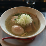 播磨坂 もりずみ - 塩糀煮たまごチャーシュー麺(1,134円)