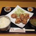 53653183 - ザンギ定食@700円