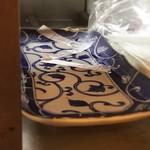 53654405 - 注文用紙、水張った平皿とか                       画期的w