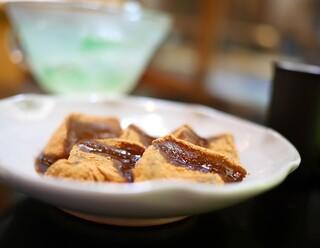 大極殿本舗 六角店 - 琥珀流し ミニわらび餅セット