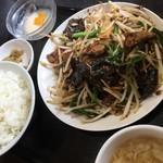 中華食堂 秋 - ニラレバ定食