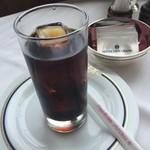 パノラミックレストラン ル・ノルマンディ - アイスコーヒー美味しいです。