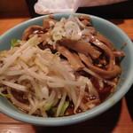 つけそば屋 麺楽 - 野菜+めんま(7月)