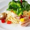 レストラン ヤマザキ - 料理写真:チキンとルッコラのペペロンチーノ¥950(税込)