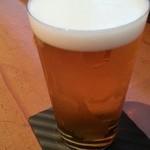 きんはる - 生ビール(アサヒスーパードライ) 2016.7