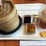 聘珍茶寮 SARIO - 注文して5分ほどで点心が出来上がりました。