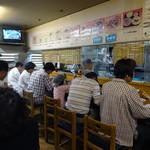 大阪屋 - 「大阪屋」満席の店内