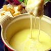 ランチからチーズフォンデュが食べられる♪♪
