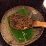 加賀上杉 - 蕎麦の実入り焼き味噌