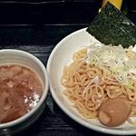 もず次郎 - 【鶏つけ麺 + 味玉】¥780 + ¥100