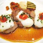 文流 - ('10/10)豚フィレ肉とモッツァレラのオーブン焼き