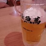 横濱 魚萬 - まぁまぁの冷え具合
