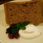 ロンアンドメリー - 紅茶のシフォンケーキ