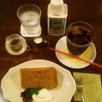 ロンアンドメリー - 紅茶のシフォンケーキセット