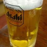 はつかの - 2016年6月 生ビール