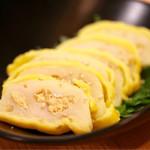 天ぷら串ともつ鍋 奥志摩 - 自家製からしれんこん