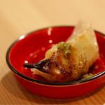 天ぷら串ともつ鍋 奥志摩 - 柚子胡椒との相性が抜群です
