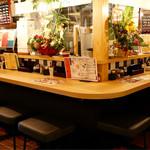 天ぷら串ともつ鍋 奥志摩 - 中洲屋台をイメージしたバルスペース