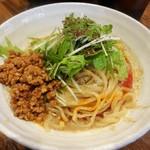立石担担麺 火のき - 汁無し担々麺\800(16-07)