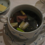5367434 - テールとネギのスープ